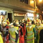 Els membres de l'Esplai Clariana es van convertir en espelmes