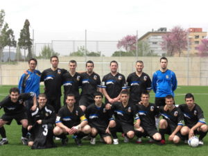 Foto d'equip de l'Atlètic Incresa