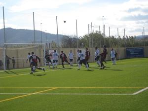 Atlètic Incresa defensant un corner
