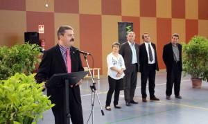 Arcas inaugurant el nou Poliesportiu de la Sínia