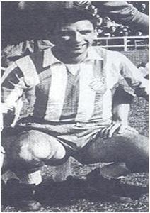 Joan Bartolí amb la samarreta de l'Espanyol