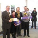 Xavier Montserrat i Mercè Martínez són la parella guanyadora del concurs de tast de vins