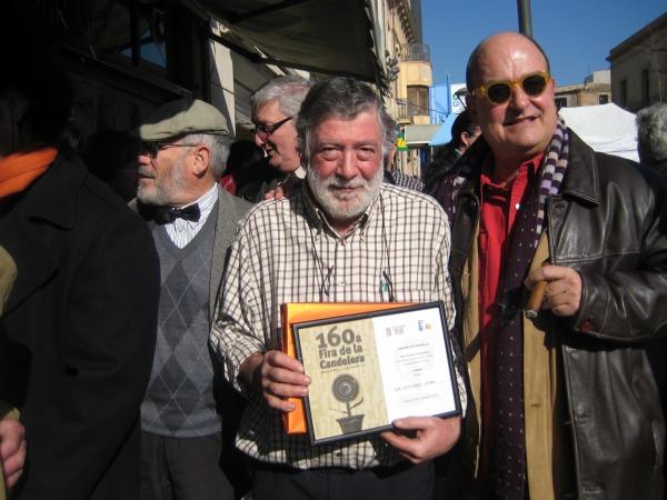Joan, del  Bar Garbi guanyador del concurs de coradella