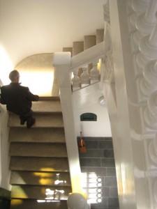 Les escales de la Federació Obrera són un dels elements que es conserven de l'anterior etapa // Jose Polo