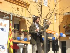 Oriol Pujol a la presentació de Casals // Jose Polo