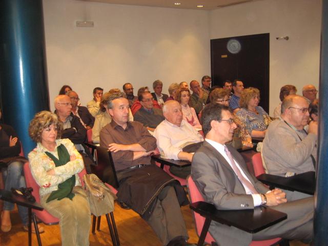 L'auditori de l'ONCE es va omplir amb més de 40 persones // Jose Polo