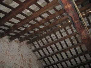 La zona més afectada del sostre del Molí no ha pogut ser visitada per aquesta redacció // Jose Polo