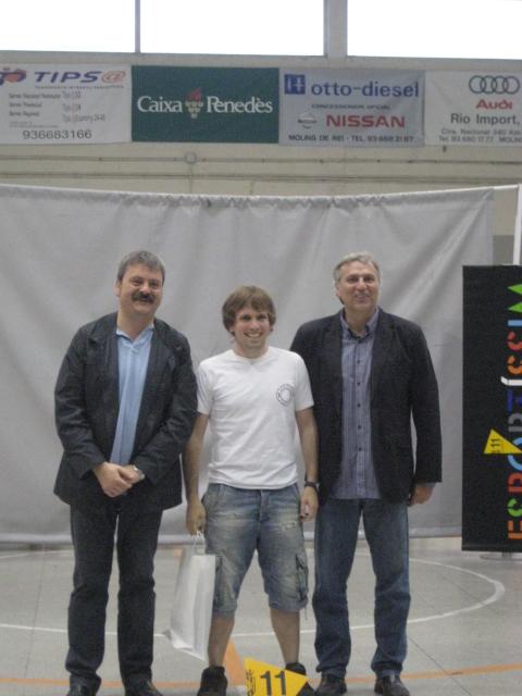 Xavier Arós, premiat CE Molins de Rei Esportíssim 2011 // Jose Polo