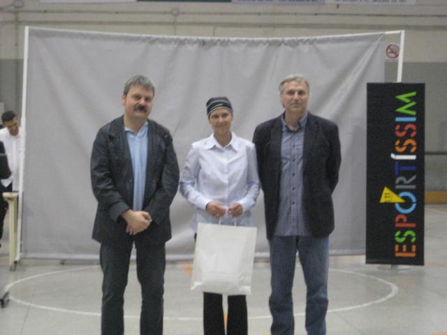 Inés Solana, premi Esportíssim 2011 pel CE Molins de Rei // Jose Polo