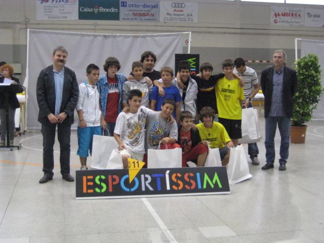 Equip infantil A, premiat pel Molins de Rei CF // Jose Polo