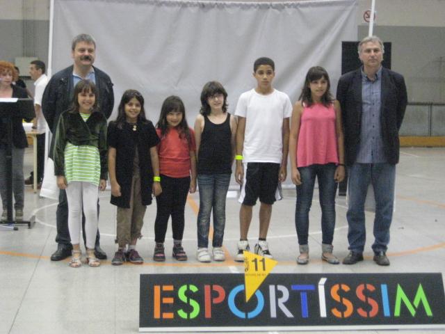 Equip infantil premiat pel Club Halterofília Molins de Rei // Jose Polo