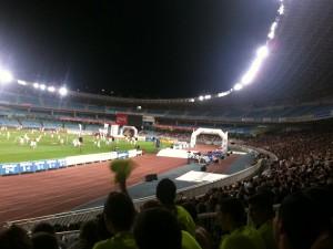 La presentació i les finals del torneig es van disputar a l'estadi de la Reial Societat, Anoeta // Adrià Casaín