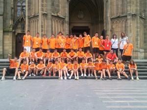 L'any passat el Molins de Rei CF ja va disputar la Donosti Cup // Jose Polo