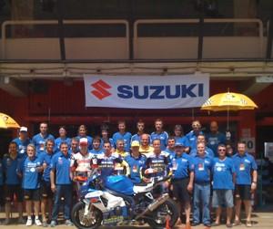 Equip Suzuki Català 2011 // cedida per Suzuki Català