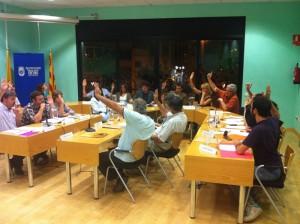 L'Ajuntament ha mostrat el seu recolzament a les mobilitzacions ciutadanes // Molins contra les Retallades