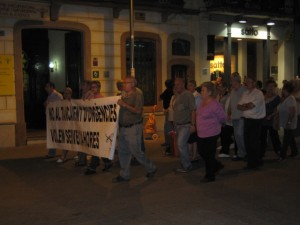 Les manifestacions cada vegada apleguen a menys gent // Jose Polo