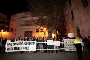 Molins contra les retallades i els treballadors d'Euroretractil es van fer escoltar // Miquel Monfort