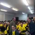 La comunitat educativa es va reunir en defensa de l'escola pública // Jose Polo