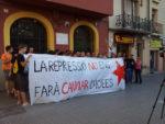 Les consignes en contra de la repressió van ser protagonistes // Jose Polo