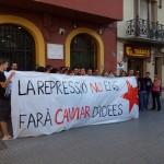 40 persones es concentren en suport a Enric Piera