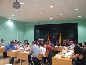 La mesura va propiciar un intens debat al ple municipal // Jose Polo