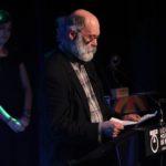 Joaquim Saura va recollir el premi al seu germà, mort el passat mes d'octubre // Jordi Julià