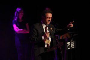 Jordi Hurtado va fer un discurs entusiasta sobre Molins de Rei i el món de la ràdio // Jordi Julià