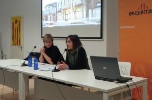ERC defensa el pacte amb CiU a Molins de Rei // Jose Polo