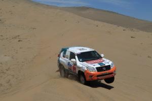 Les dunes van jugar-li una mala passada a Xavi Foj // Foj MPA Team