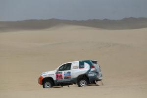 Xavi Foj va tornar a volar per les dunes de Nazca // Jose Polo
