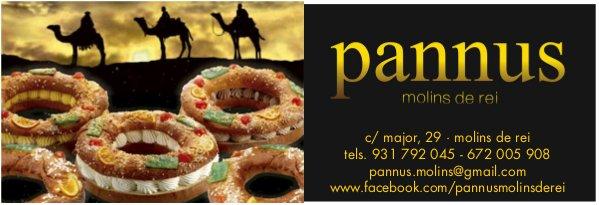 Reserva o compra ja el teu tortell de Reis a Pannus!