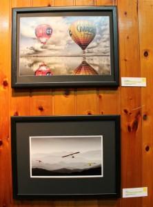 L'accèsit (part superior) i el primer premi (part inferior) de la categoria d'esports de muntanya tenen relació amb l'aire // David Guerrero