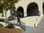 La rampa fa més accessible l'entrada a l'església // Laura Duran