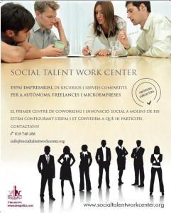 Cartell Social Talent Molins