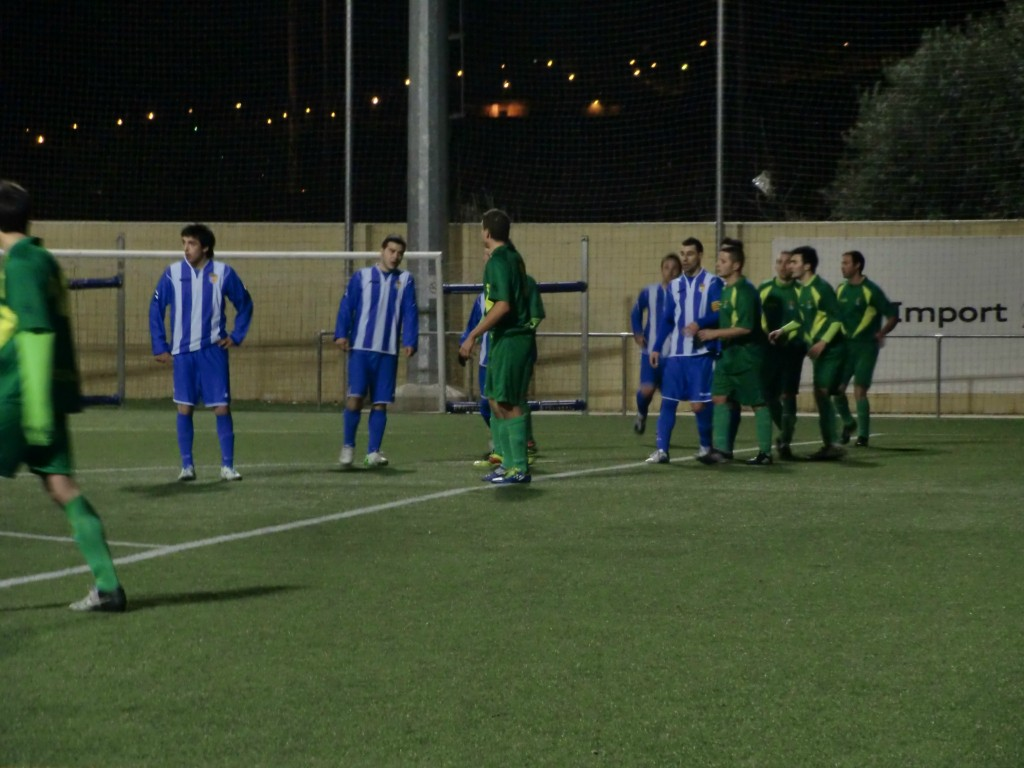L'Atlètic Incresa va perdre el partit en els últims minuts // Adrià Casaín