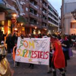 """Els membres de l'escola Estel es van converir en els """"Superestels"""" // J.Julià"""