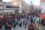 La plaça de Catalunya esperant que comencés el pregó // J.Julià