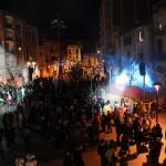 La plaça de Catalunya en acabar l'entrega de premis // J.Julià