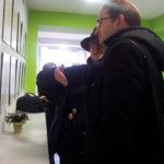 Herrera va gaudir de l'exposició sobre els orígens del PSUC a Molins de Rei // Jose Polo