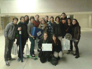El grup Joves III de L'Agrupa va guanyar el primer premi del concurs // Esplai L'Agrupa
