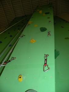 El nou rocòdrom permetrà que Molins de Rei sigui seu de la lliga catalana d'escalada esportiva // CEM