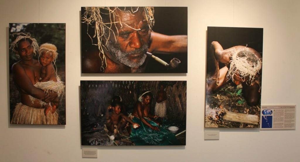 Els petit Namba, una tribu al mig del Pacífic, és una de les que es mostren a l'exposició // David Guerrero