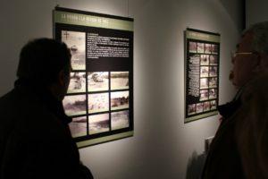 La sala d'exposicions de Ca n'Ametller es va omplir de visitants durant l'exposició // David Guerrero