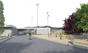 El projecte de zona esportiva vol revitalitzar el barri del Canal // Ajuntament de Molins de Rei
