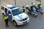 La Guàrdia Urbana va exposar la nova flota de vehicles davant els mitjans de comunicació // Ajuntament de Molins de Rei
