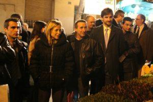 La vicepresidenta del Govern ha passat una bona estona al planter de la Fira // David Guerrero
