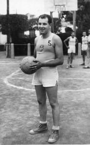 Durant la postguerra, l'esport era una evasió pel molinenc // cedida per la família Permanyer