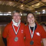 Raquel Armentano queda tercera al Campionat d'Europa de tir amb arc