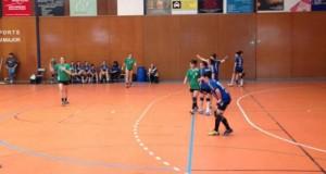 El femení d'handbol es va veure sorprès a la pista del Vilamajor // Jose Polo