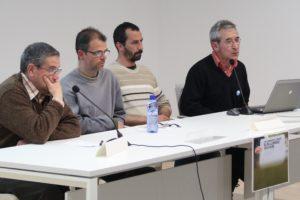 Membres del Parc Agrari del Baix Llobregat, Delta Viu, Associació Hàbitats, Prou Sal i Martorell Viu van exposar les demandes de les seves entitats // J.Julià